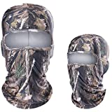 WTACTFUL 2 Pack - Breathable Camouflage Balaclava...
