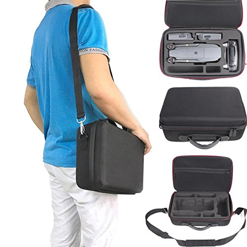 Creazy Hardshell Shoulder Waterproof box Suitcase bag for DJI Mavic Pro RC Quadcopter by Creazy