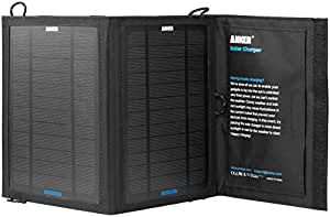 Anker 8W Single-Port Portable Foldable Outdoor Solar Charger with PowerIQ Technology