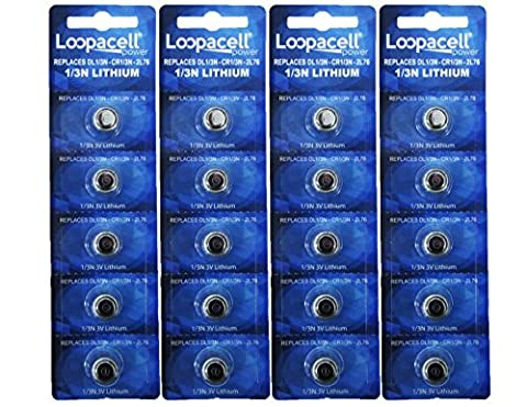 20 Loopacell 1/3N Batteries CR1/3N 3-Volt Lithium Battery - Innotek Electronic Dog Fence
