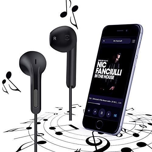 GRTF Earbuds, in-Ear Wired Earphones Stereo Headphones Micro