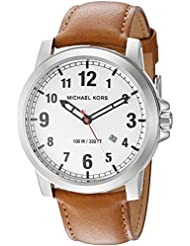 Michael Kors Mens Paxton Brown Watch MK8531
