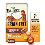 Beyond Grain Free Natural Dry Dog Food, White Meat Chicken & Egg 5.89 kg Bag