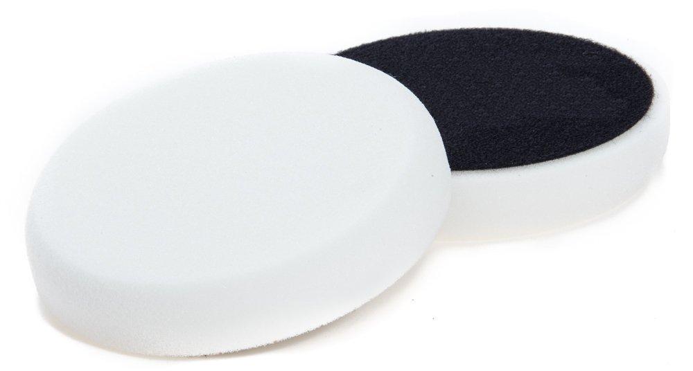 Benbow Auto Polierschwamm 150x 25mm Weiß Start mit Klettband aus Schwamm und Polierset Poliermaschine Polieraufsatz Autopolitur Pads Polieren Auto Wolle Polierpad Polierteller