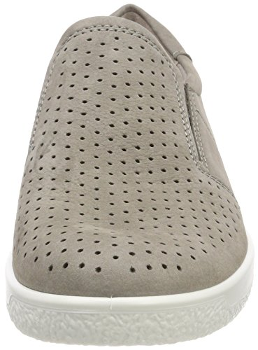 Warm Grey Soft Beige 1 Mujer Ecco para Zapatillas wUPpFFxf