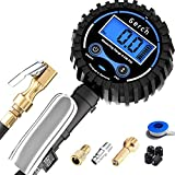 Digital Tire Inflator with Pressure Gauge and Longer 24
