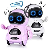 Abco Tech Interactive Mini Robot Toy Kids Toddlers – Robot Features Voice Recognition