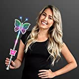 Light Up LED Pretty Butterfly Wand