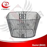 scooter Front Steel Basket Bicycle Basket without Cover Spare Parts&Accessories