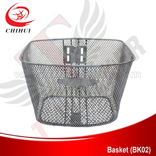 scooter Front Steel Basket Bicycle Basket without Cover Spare Parts&Accessories by scooter