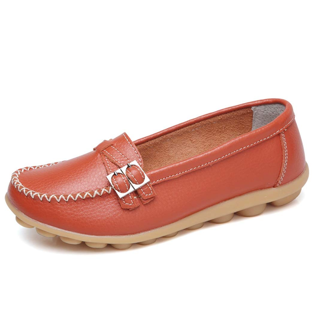 Amazon.com: Kyle Walsh Pa Women Slip-on Flats Low Heel Moccasins Casual Soft Female Loafers: Sports & Outdoors