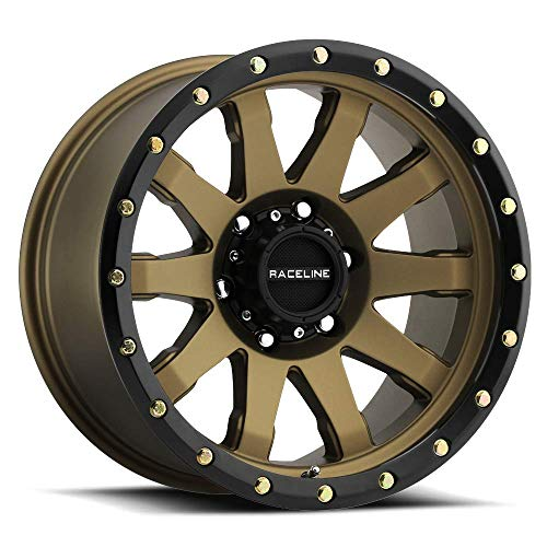 "17"" Inch Raceline 934BZ Clutch 17x9 8x6.5"" -12mm Bronze/Black, used for sale  Delivered anywhere in USA"