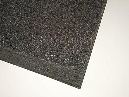 2 placas de espuma de polietileno Plastazote 45 kg/m3 negro grosor 30 mm 1000 x 1000 mm: Amazon.es: Industria, empresas y ciencia