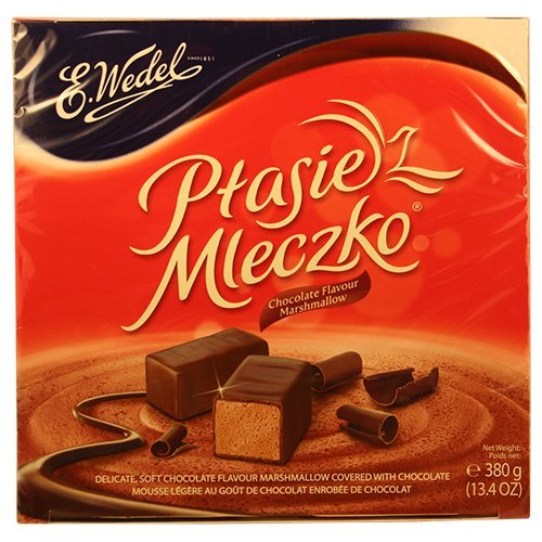 - Ptasie Mleczko Chocolate Covered with Chocolate Marshmallow 380g / 13.4
