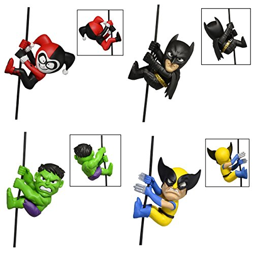 """NECA Scalers Characters Wave 4 Complete Set, 2"""""""