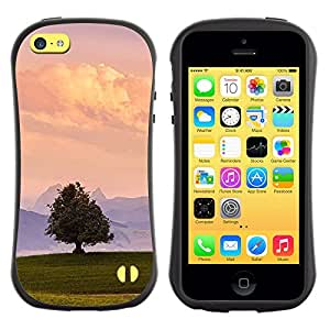 Suave TPU GEL Carcasa Funda Silicona Blando Estuche Caso de protección (para) Apple Iphone 5C / CECELL Phone case / / Minimalist Nature Sky Summer Landscape /