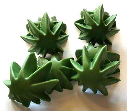 (Marijuana Soap - Marijuana - 420 - Mary Jane - Pot - Cannabis Flower Shaped Soaps - FREE SHIPPING - You Choose Scent - 8 Soaps)