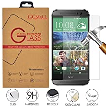 HTC Desire 816 Screen Protector, GG MALL® HTC Desire 816 Glass Screen Protector - Tempered Glass - Ultra-thin [0.26mm] Ballistics Glass for HTC Desire 816 (with Retail Package)