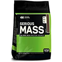 12 Pound Optimum Nutrition Serious Mass Gainer Chocolate Protein Powder