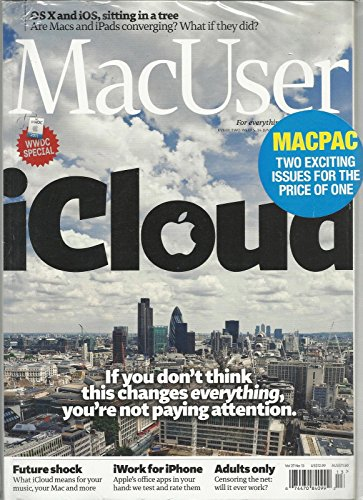 MAC USER, JUNE, 24th 2011 MAC PAC TWO EXCITING ISSUE FOR THE PRICE OF ()