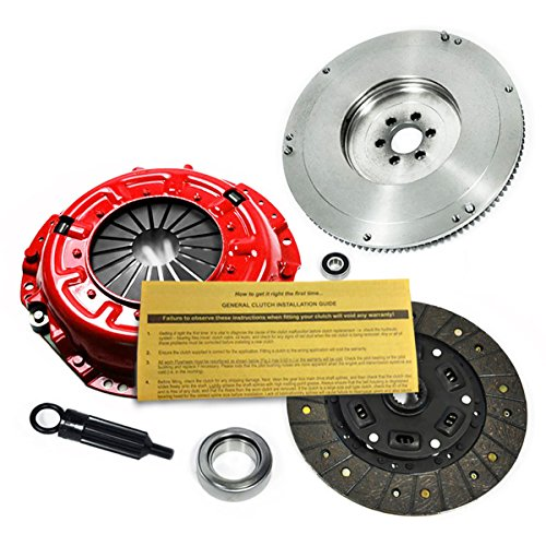 Pickup Clutch Flywheel - EFT STAGE 1 CLUTCH KIT & FLYWHEEL for 84-88 TOYOTA 4RUNNER PICKUP 22R 22RE 2.4L