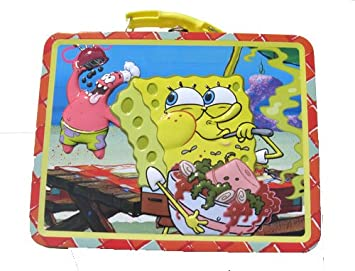 83bf11e3f29c Amazon.com: Spongebob Metal Boys Tin Lunch Box: Baby