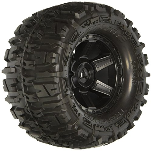 "Proline 117013 Trencher 2.8"" All Terrain Tires Mounted for Electric Stampede/Rustler, Pair"