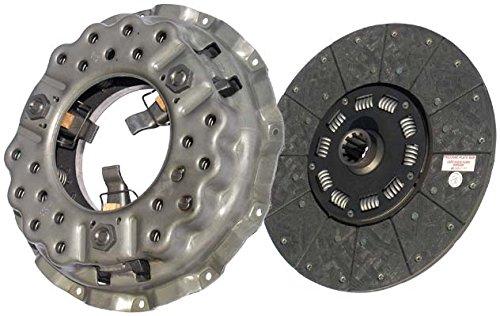 IATCO LP1047-104-IAT 14'' x 1-1/2'' DLB Stamped Steel Clutch (Single-Plate, Push-Type, Organic / 10-Spring, 3200 Plate Load / 500 Torque) by IATCO