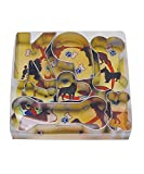 R&M International 1949 K-9 Dog Cookie Cutters, 4 Bones, Heart, Number 9, Letter K, 7-Piece Set