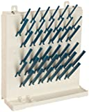 Bel-Art Lab-Aire II Single-Sided Non-Electric Wallmount Dryer; 2 Tier, 14.75 x 5 x 16.4 in. (F18933-0014)