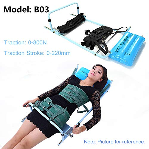 Finly Spine Lumbar Spine Traction Bed Therapy Massage Body Stretching Device Cervical For Neck & Lumbar Reduce Spine Joint (Lumbar Spine Traction)