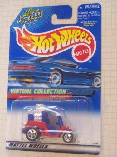 Golf Cart Replica - #2000-117 Tee'd Off Virtual Collection Collectible Collector Car Mattel Hot Wheels 1:64 Scale