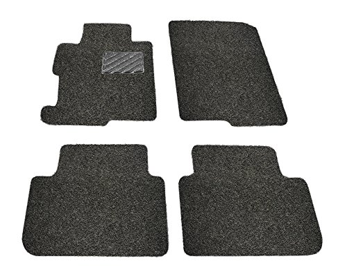 Custom Fit Heavy Duty Custom Fit Car Floor Mat for 2014-2018 Mitsubishi Outlander SUV, All Weather Protector 4 piece set (Black) - Mitsubishi Outlander Custom Mats