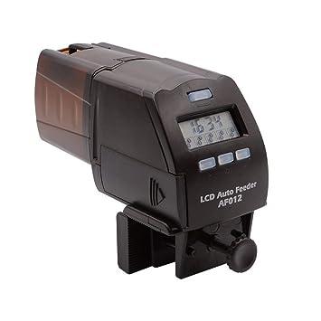 NICREW Acuario Alimentador Automatico de Peces, Pantalla LCD Dispensador de Alimentos de Peces para Deposito de Peces: Amazon.es: Productos para mascotas