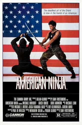 American Ninja 1 Póster 01 A3 caja impresión de Lienzo ...