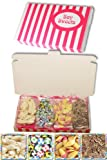 Gift Sweets - Chocolate Flavour Novelties - 125g Chocolate Footballs, 125g White Mice, 125g Ice Cream Cones, 125g Chocolate Jazzles