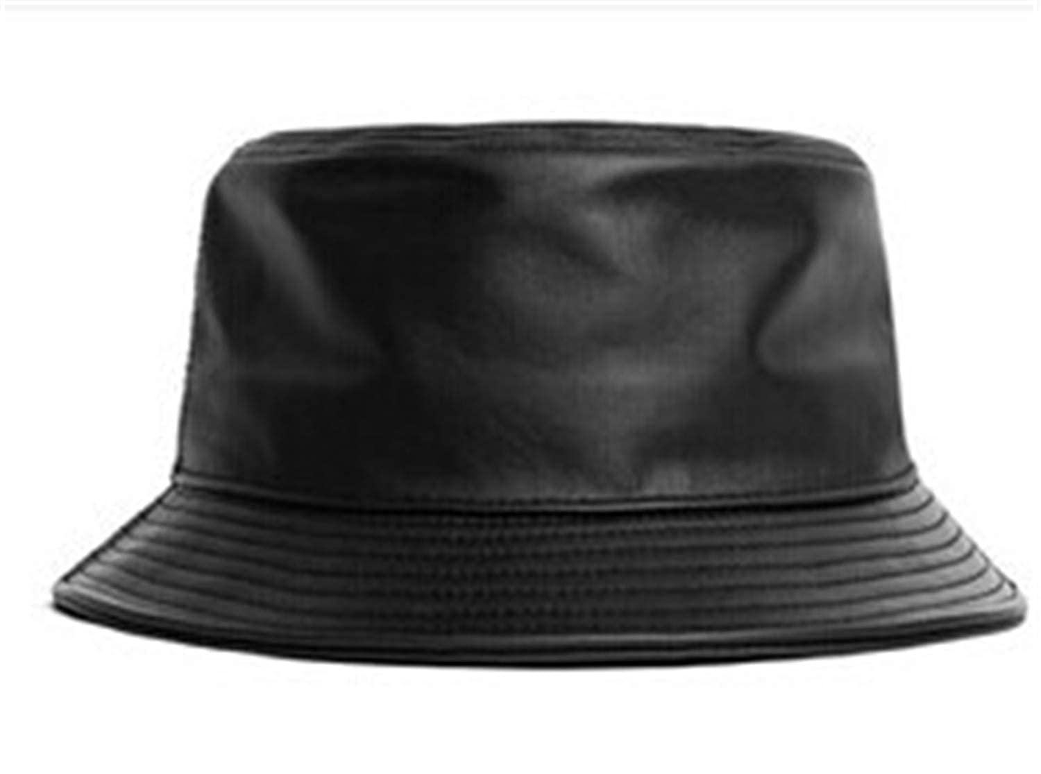 Genuine Leather Fishing Cap Casual Bucket Hat Out Sun Protection Bonnie Hat Male Camping Borras for Women Men