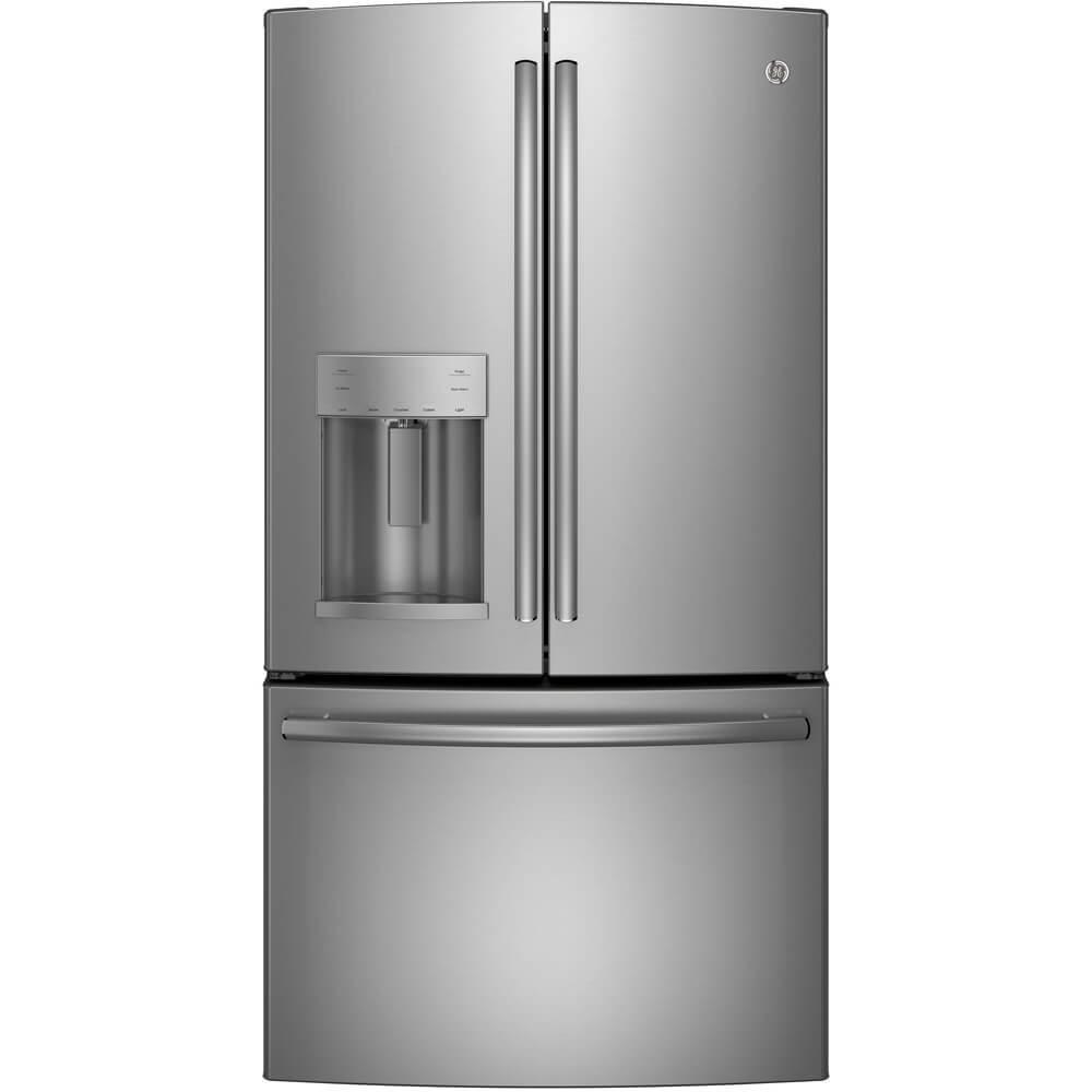 GE GFE26GSKSS 25.8 Cu. Ft. Stainless Steel French Door Refrigerator - Energy Star
