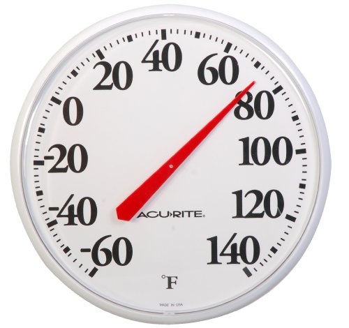 AcuRite 01360 12 5 Inch Basic Thermometer