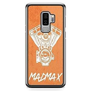 Loud Universe Engine Car Samsung S9 Plus Case Madmax Art Samsung S9 Plus Cover with Transparent Edges
