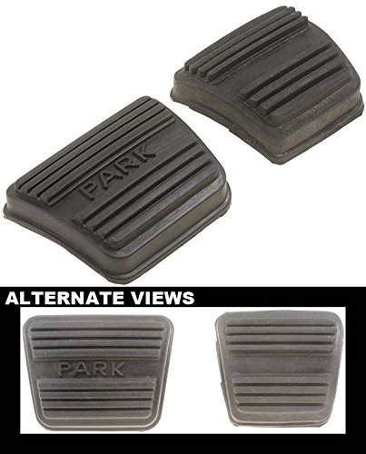 APDTY 31852 Replacement Brake And Clutch Pedal Rubber Pad Set