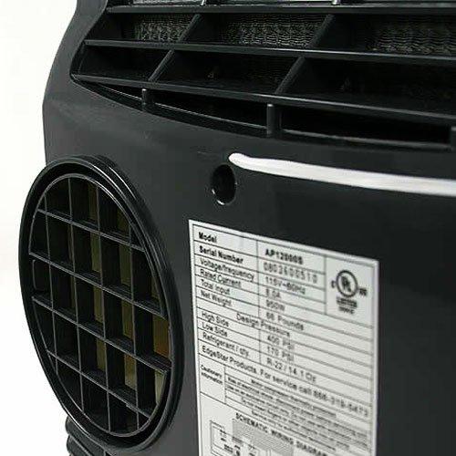 Amazon.com: EdgeStar Extreme Cool 12,000 BTU Portable Air Conditioner    Silver: Home U0026 Kitchen