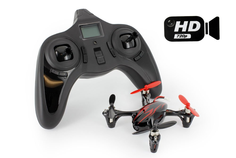 Hubsan Hubsan Hubsan X4 H107C with HD 2MP Camera 2.4G 4CH 6 Axis Gyro RC Quadcopter, Mode 2 RTF by Hubsan 1f691f