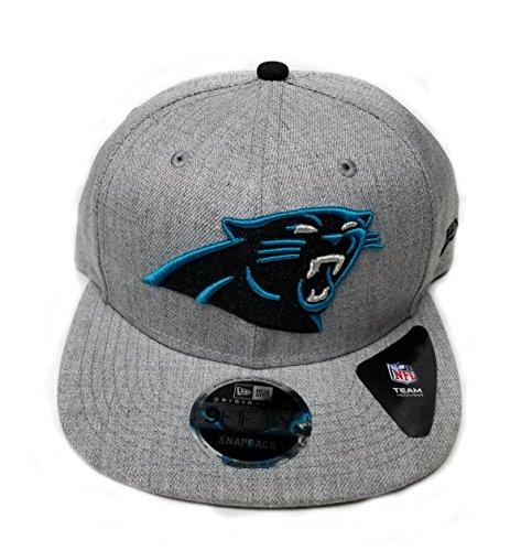 み人里離れた改修するNew Era Carolina Panthers Heather基本的な調整可能なスナップバック帽子キャップNFL