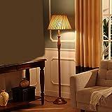 Fu Man Li Trading Company European creative simplicity modern pastoral retro study warm bedroom bedside living room floor lamp A+