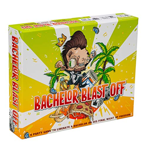 Bachelor Blast Off - The Ultimate Party Game for Bachelor Parties