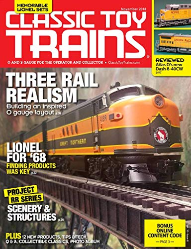 Magazines : Classic Toy Trains