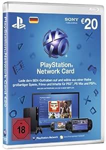 Sony PlayStation Network Card (20 Euro) - accesorios de juegos de pc
