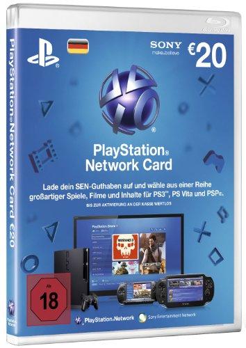 PlayStation Network Card - $20