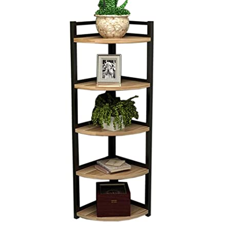 Amazon.com: Jcnfa-Shelves Corner Shelf Living Room Flower ...
